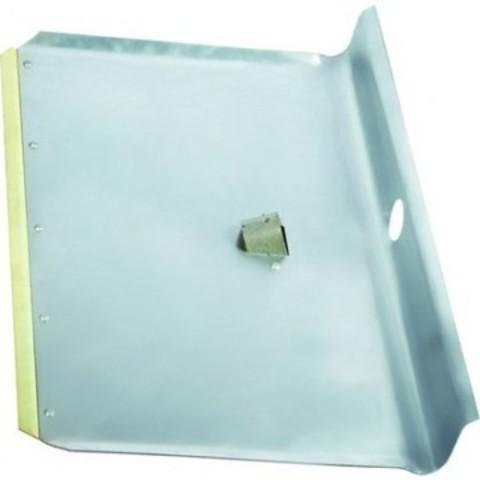 Лопата для уборки снега Сибртех 61541 ковш алюминиевый (60x40 см) без черенка