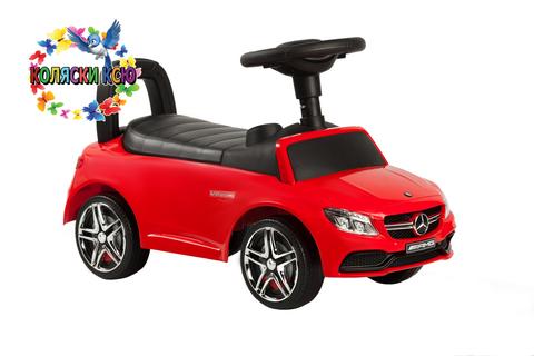 Машина-каталка Mercedes Benz (красный)