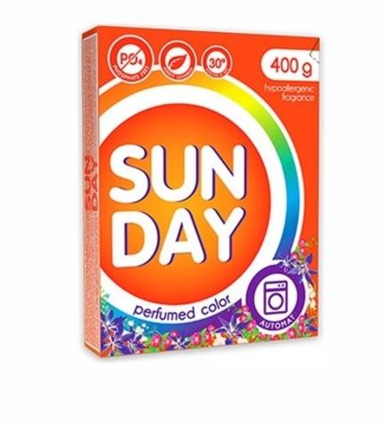 Сонца Sunday Стиральный порошок автомат для цветного белья Perfumed 400 г