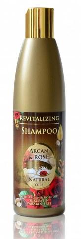 Восстанавливающий шампунь с аргановым маслом