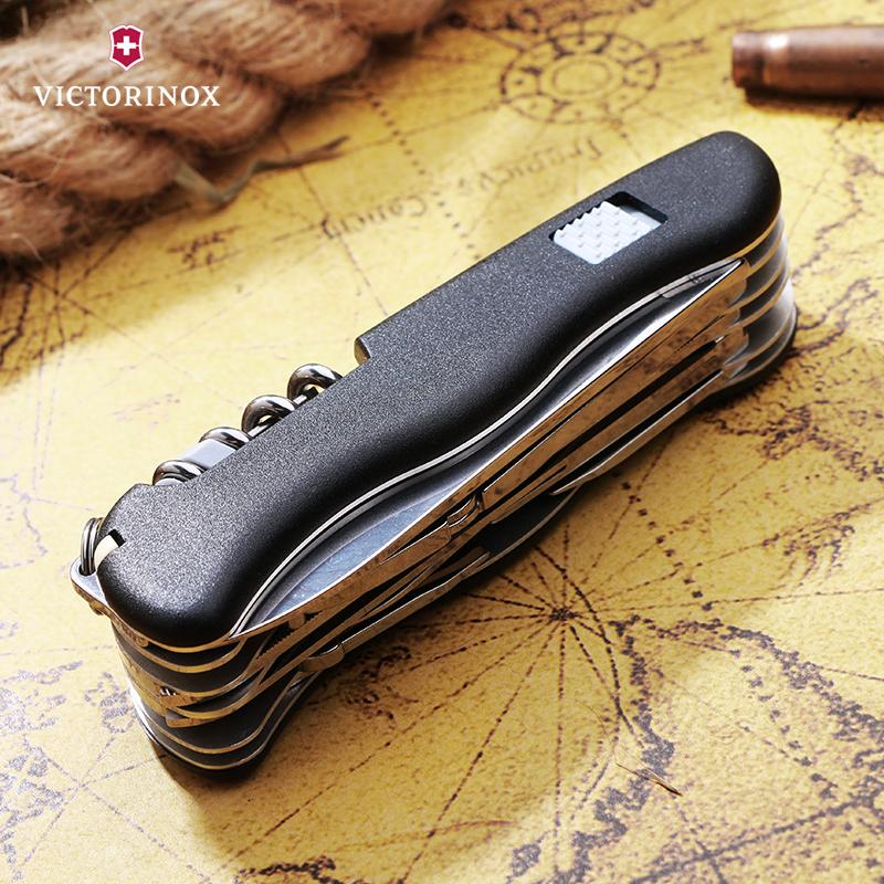 Складной нож Victorinox WorkChamp, 111 мм., 21 функция, чёрный (0.9064.3) - Wenger-Victorinox.Ru