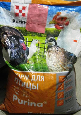 Комбикорм стартовый для водоплавающей птицы Пурина 25кг