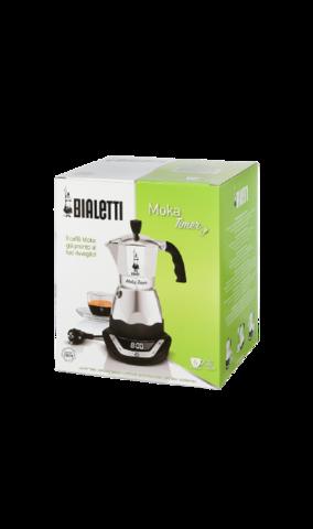 Электрическая гейзерная кофеварка Bialetti Moka Timer