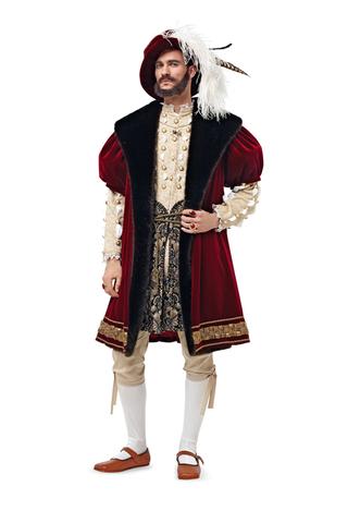 Выкройка Burda (Бурда) 6887 — Карнавальный костюм
