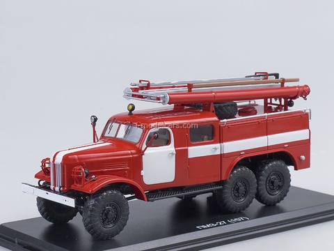 ZIL-157K PMZ-27 Fire Engine 1:43 Start Scale Models (SSM)