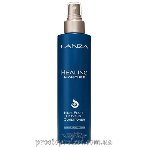 L'anza Healing Moisture Noni Fruit Leave-In Conditioner - Несмываемый увлажняющий кондиционер