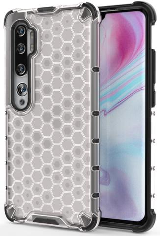 Чехол для Xiaomi Mi Note 10 и 10 Pro от Caseport, серия Honey, прозрачный корпус