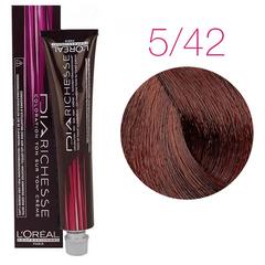 L'Oreal Professionnel Dia Richesse 5.42 (Коричневый махагоновый) - Краска для волос
