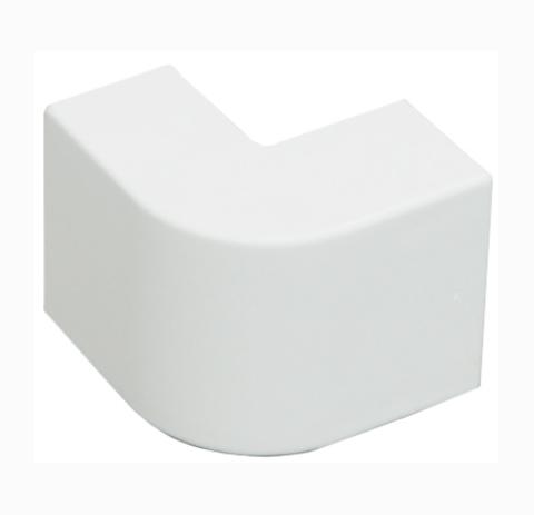 RME Внешний угол плавный стандарт TIA 20х12,5. Цвет Белый. Ecoplast (ЭКОПЛАСТ). 72214R