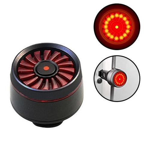Фонарь для велосипеда T09 (red), ЗУ microUSB, встроен. аккумулятор, автомат. вкл./выкл.