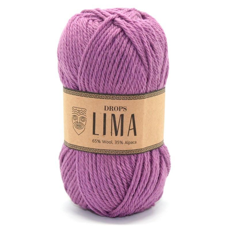 Пряжа Drops Lima 4088 черничный