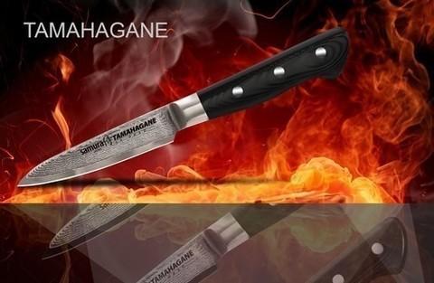 Набор из 3 ножей Samura TAMAHAGANE (упакованы отдельно)