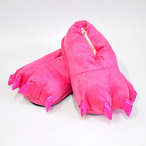 Тапочки царапки розовые детские
