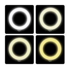 Кольцевая светодиодная лампа 30 см со штативом для профессиональной съемки