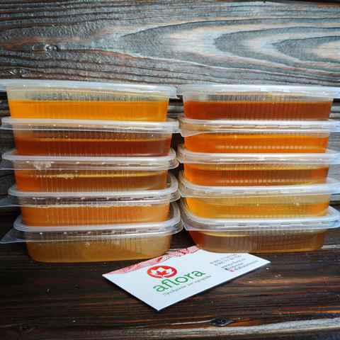 Фотография Медовое ассорти (набор из пробников меда по 100 мл) / 1 шт купить в магазине Афлора