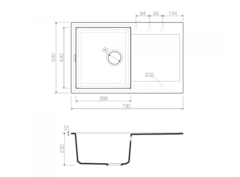 Схема Omoikiri Sakaime 79-DC