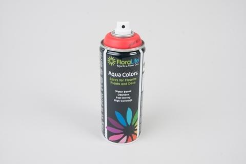 Спрей Краска Floralife 400мл Aqua красный