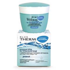РОСКОШНЫЙ КРЕМ на термальной воде для лица и кожи вокруг глаз Дневной, 45 мл Blue Therm