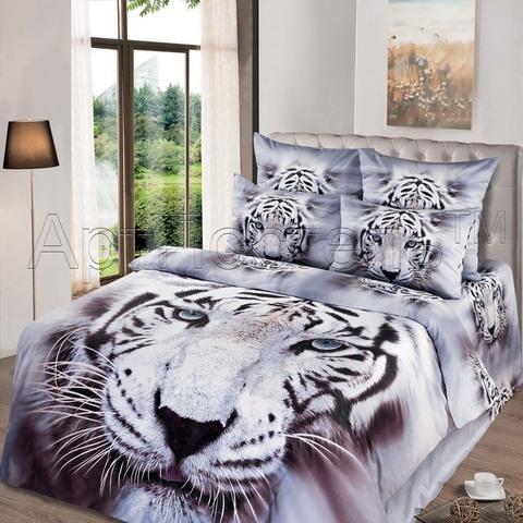 Комплект постельного белья Белый король Premium