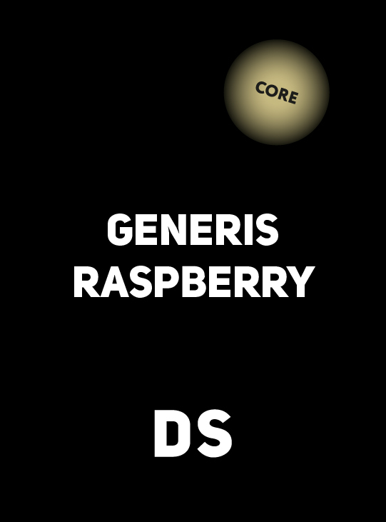 Аксессуар DS CORE GENERIS RASPBERRY 30