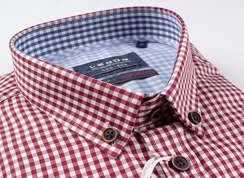 Рубашка Ledub slim fit 0137318-490-180-130