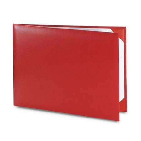 Обложка / корочка «Колор» для диплома или сертификата (красная)