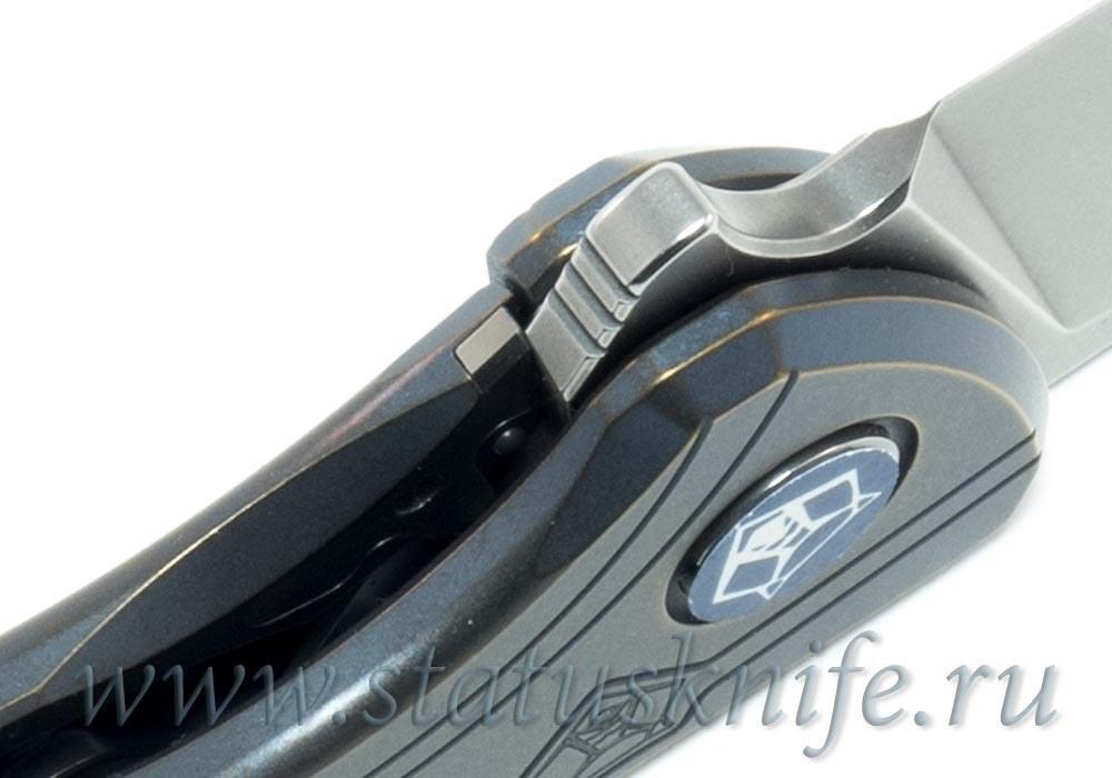 Нож Широгоров Flipper 95 М390 Нудист MRBS 2017 - фотография