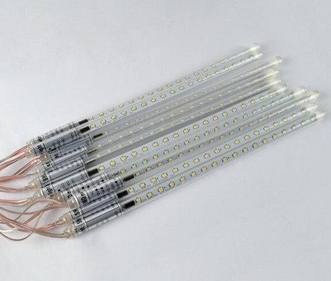 Свисающие гирлянды сосульки LED