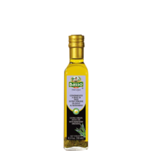 BASSO Extra Virgin Olive Oil with Rosemary Dressing - оливковое масло экстра вирджин с заправкой из розмарина, 250 мл