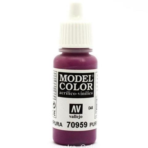 Model Color Purple 17 ml.