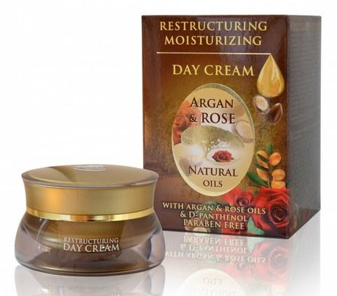 Дневной крем с аргановым маслом