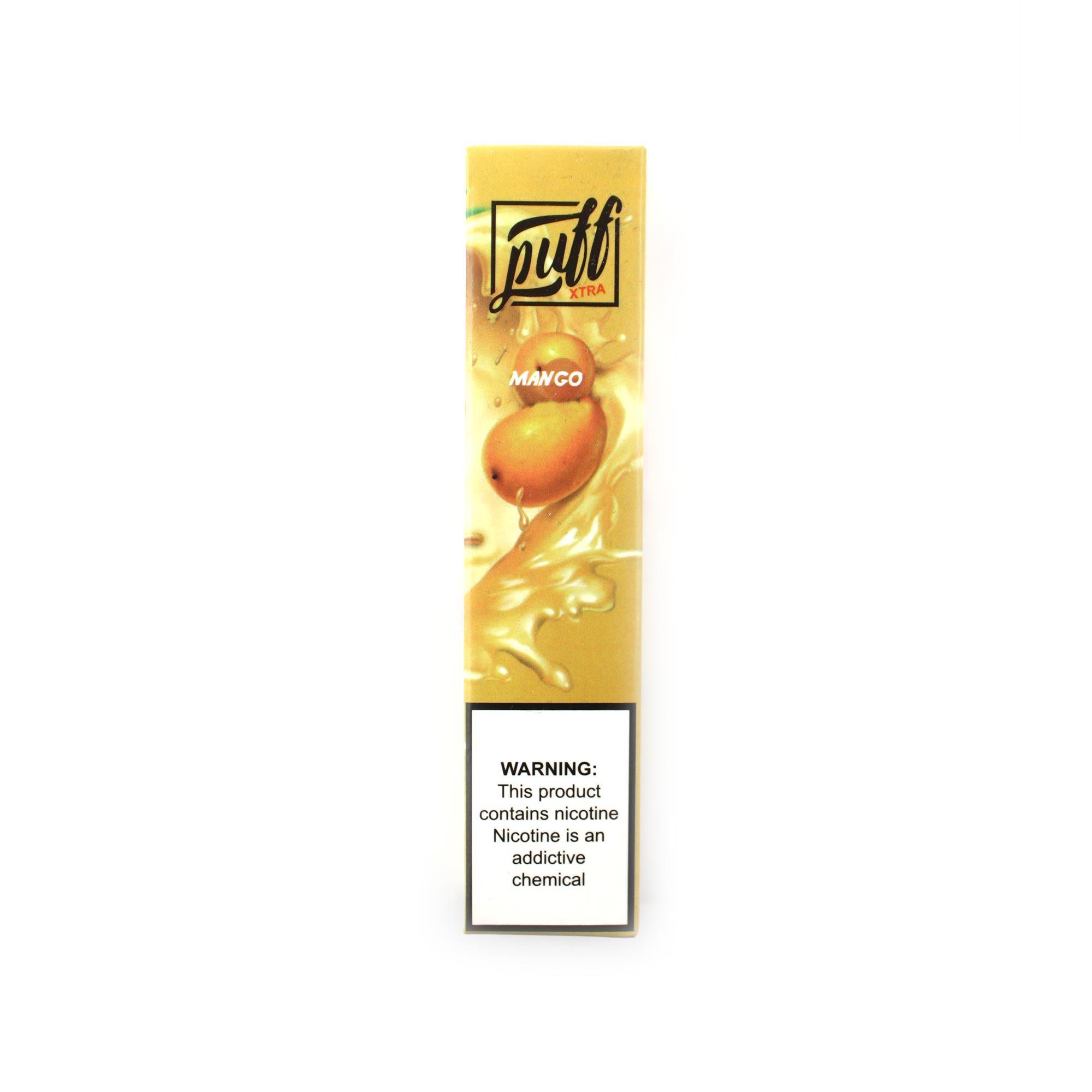 Одноразовая электронная сигарета Puff Extra Mango (Манго)