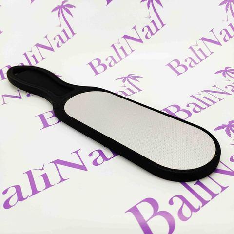 Пилка педикюрная лазерная с пластмассовой ручкой  большая, широкая
