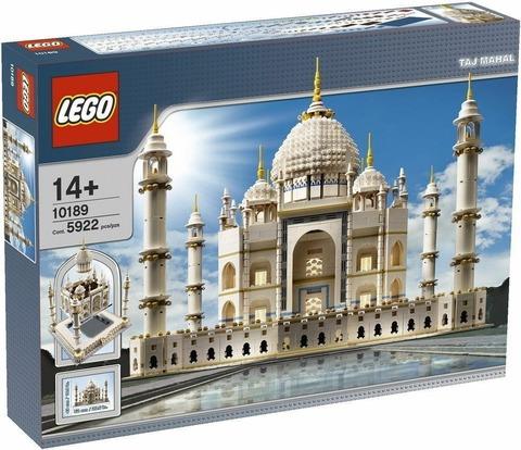 LEGO Creator: Тадж Махал 10189 — Taj Mahal — Лего Креатор Создатель