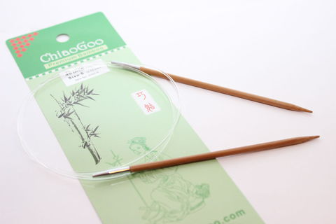 Chiao Goo Спицы круговые бамбук