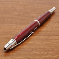 Перьевая ручка Capless Décimo (цвет: Red - Красная, перо золотое 18К с родиевым покрытием Fine 0,3 мм)