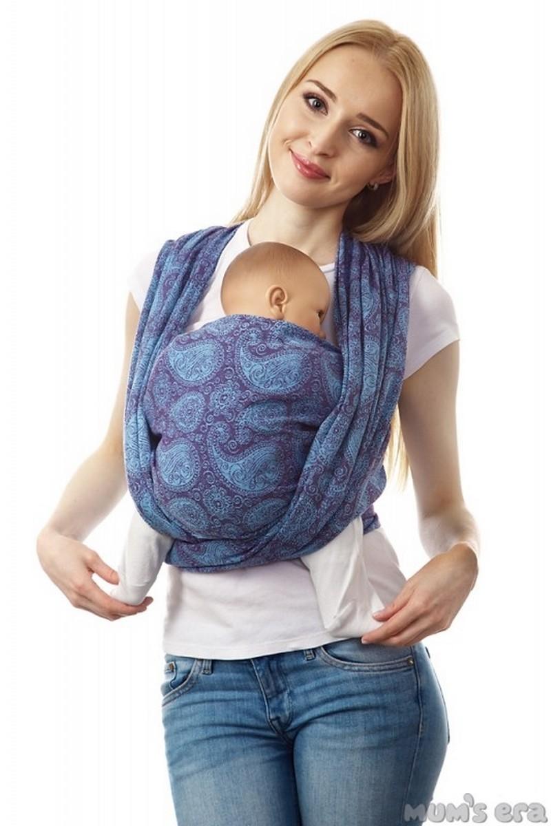 Слинг-шарф 00894 фиолетовый