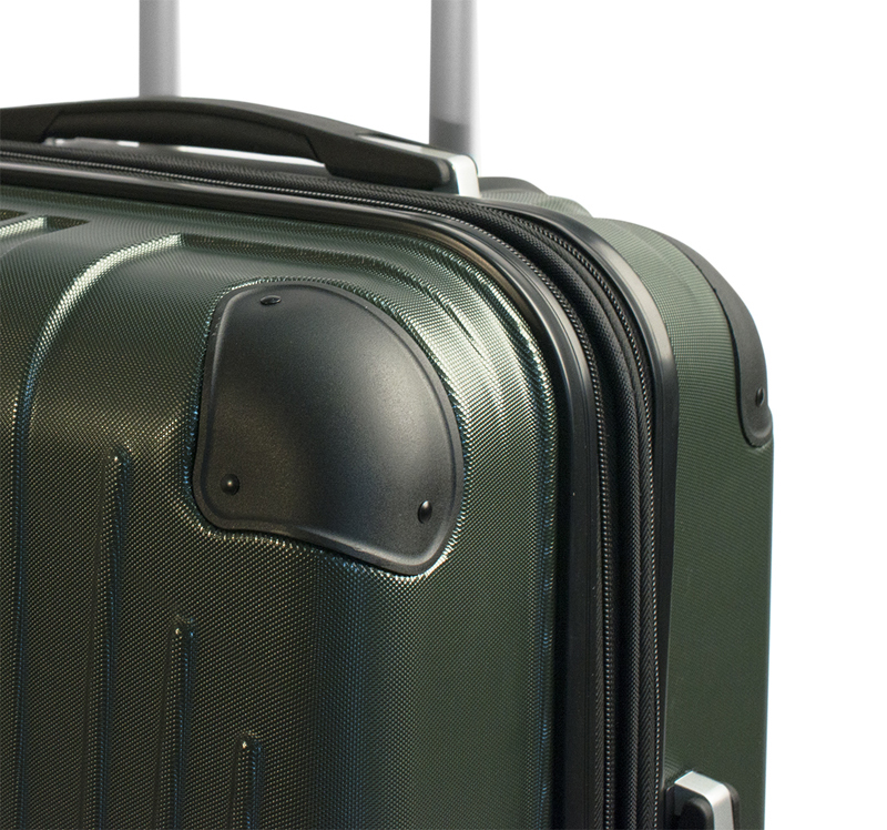 Чемодан Wenger Ridge для ручной клади, пластик, зеленый, 54x34x24 см., 31 л. (6171014154)