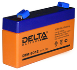 Аккумулятор Delta DTM 6012 ( 6V 1,2Ah / 6В 1,2Ач ) - фотография