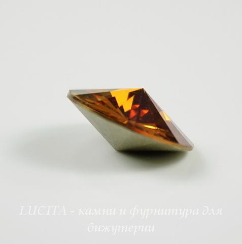 1122 Rivoli Ювелирные стразы Сваровски Crystal Copper (12 мм)