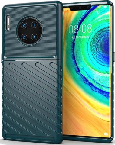 Чехол Huawei Mate 30 Pro (Mate 30 RS) цвет Green (зеленый), серия Onyx, Caseport