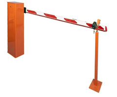 Ручной шлагбаум с длиной стрелы от 5 до 6 метров