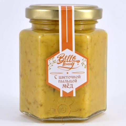 Крем-мёд с цветочной пыльцой BelloHoney, 260г