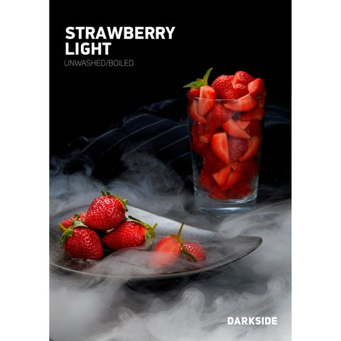 Табак для кальяна Dark Side Core 100 гр Strawberry Light, магазин FOHM