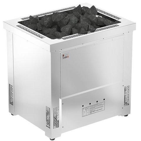 Серия Taurus: Электрическая печь SAWO TAURUS TAU-105N-PR (10,5 кВт, выносной пульт управления, нержавейка)