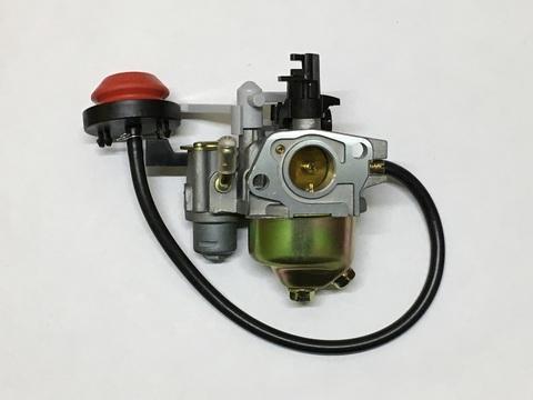 Карбюратор для двигателя снегоуборщика с краником, подкачкой  ( 5-7 л/с )
