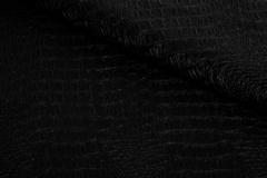 Искусственная кожа Crocodile (Крокодил) С-7 черный