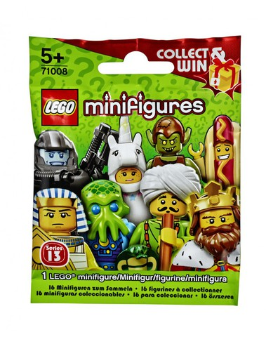 LEGO Minifigures: 13 серия 71008 — Series 13 Minifigure — Лего Минифигурки