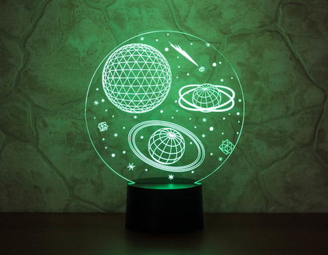 Лампа Космос