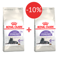 1,5 кг + 1,5 кг -10% Royal Canin Sterilised 7+